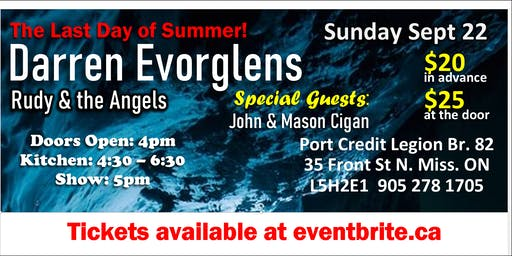 Last Day of Summer with Darren Evorglens and Friends!