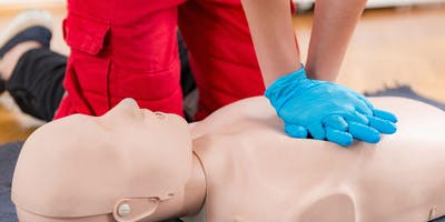 Red Cross First Aid/CPR/AED Class (Blended Format)