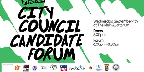 City Council Candidate Forum tickets