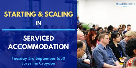 Starting & Scaling in Serviced Accommodation tickets