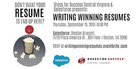 Writing Winning Resumes tickets