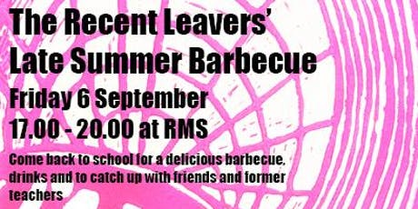 The Recent Leavers' Barbecue tickets