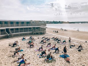 Yoga on the Beach + Brunch tickets