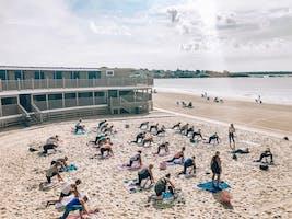 Yoga on the Beach + Brunch