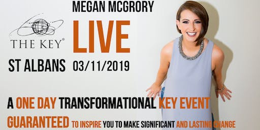 The Key Live St Albans - A One Day Transformational Key Event