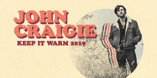 Sierra Nevada Heritage Series: John Craigie Keep It Warm Tour w/Shook Twins
