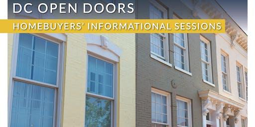 DC Open Doors Homebuyers' Seminar