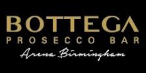 Salsa and Prosecco at Botegga Restaurant and Bar Birmingham Arena