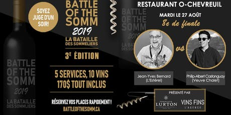 8e de finale - O-Chevreuil - Battle of the Somm 2019 billets