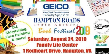Hampton Roads Indie Author Book Festival Fundraiser tickets