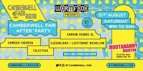 Camberwell Fair After-Party tickets