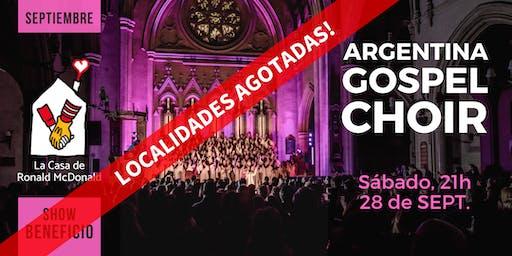 Argentina Gospel Choir · 28/Sept, 21hs. BENEFICIO