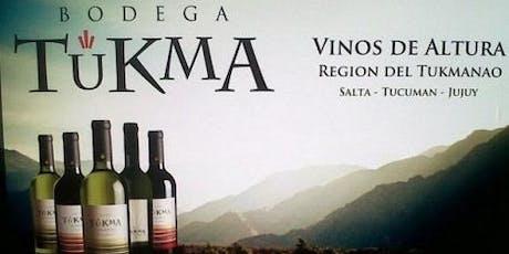 Ciclo de Degustaciones - Bodega Tukma entradas
