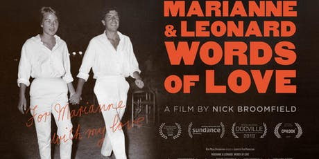 Marianne & Leonard - Words of Love (Wednesday Club) tickets