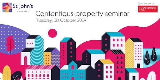 Contentious property seminar