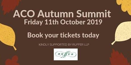 ACO Autumn Summit 2019 tickets