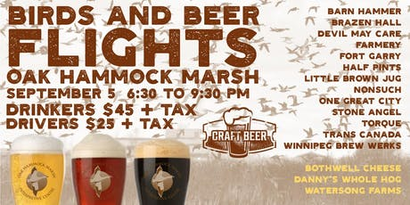 Birds and Beer Flights 2 tickets