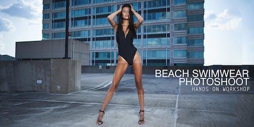 Portrait Junkies Beach Swimwear Photoshoot