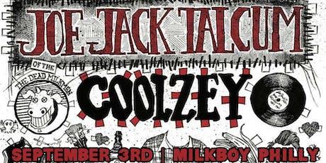 Joe Jack Talcum (of The Dead Milkmen) + Coolzey tickets