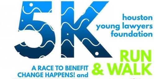 Houston Young Lawyers Foundation Annual 5K Fun Run