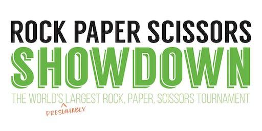 2nd Annual Rock, Paper, Scissors Showdown