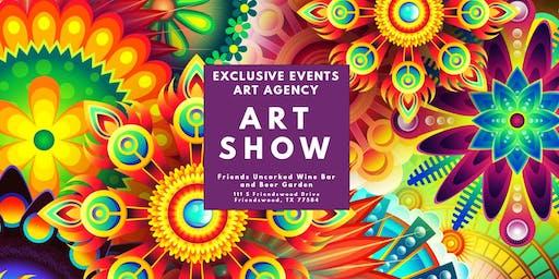 Friends Uncorked Art Show