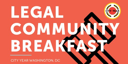 2019 City Year Legal Community Breakfast