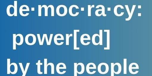 de·moc·ra·cy: power[ed] by the people. #ReclaimTheBallot & #WeCount Census