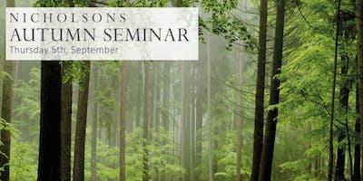 Nicholsons Autumn Conference
