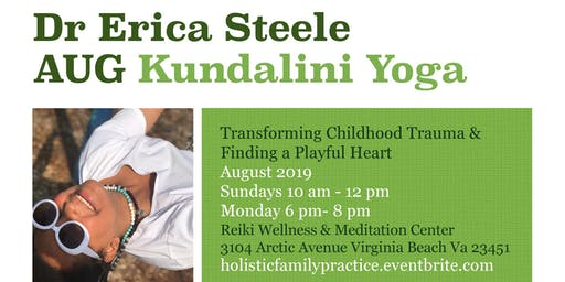 Kundalini Yoga AUGUST Series: Healing childhood trauma to find your playful heart