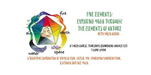 Five Elements: Exploring Yoga through the elements of nature. WEEK 4 DROP-IN: EARTH