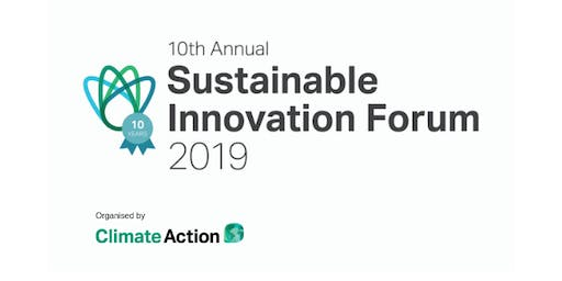 Sustainable Innovation Forum 2019 - Spain (UK VAT)