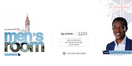 Men's Room Reading, UK - with Godman Akinlabi