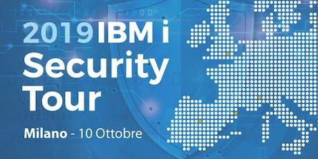 IBM i Security Tour Milano 2019 biglietti