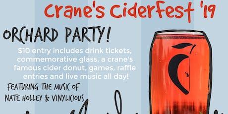Crane's CiderFest tickets