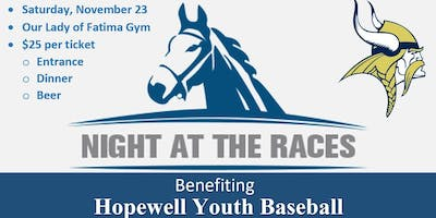 Night at the RACES - Hopewell Youth Baseball