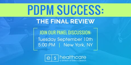 PDPM Success:  The Final Review! tickets