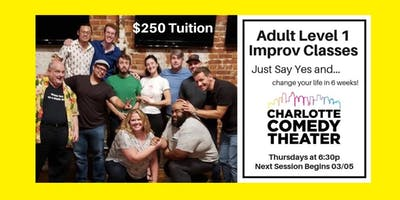 ***** Level 1 Improv Comedy Classes : 6 Week Sessions
