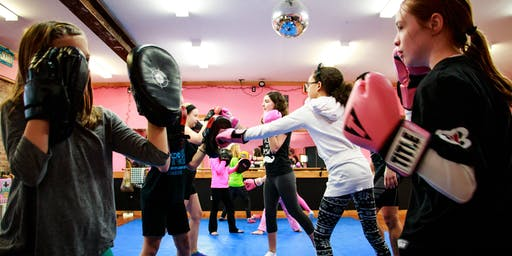 Pink Gloves~ Kick Boxing Empowerment Program for Girls