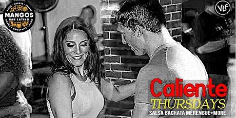 Caliente Thursdays @ Mangos Lounge tickets