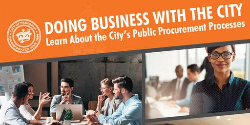 Doing Business With the City Workshop