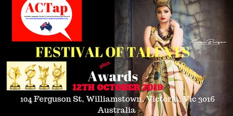 FESTIVAL OF TALENTS & ACTap AWARDS 2019 tickets