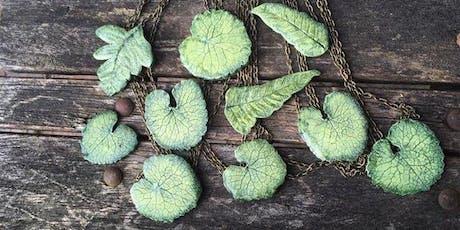 Polymer Clay Leaf Workshop tickets
