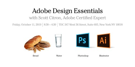 Photoshop and Illustrator Essentials with Scott Citron tickets