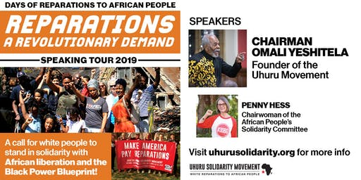Reparations: A Revolutionary Demand! - Portland