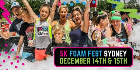 The 5K Foam Fest - Sydney tickets