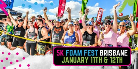 The 5K Foam Fest - Brisbane tickets