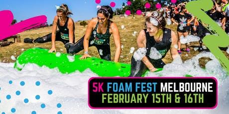 The 5K Foam Fest - East Melbourne tickets