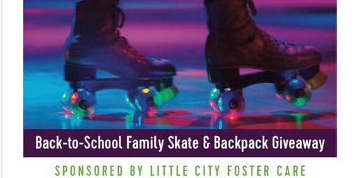 Back-to-School Family Skate & Backpack Giveaway