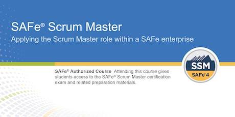 SAFe® Scrum Master Certification Training in Ottawa, Canada tickets